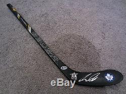 AUSTON MATTHEWS Toronto Maple Leafs SIGNED Mini Hockey Stick Beckett BAS COA ASG