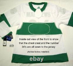 AUSTON MATTHEWS size 50 Medium Toronto ST PATS Adidas Maple Leafs Hockey Jersey