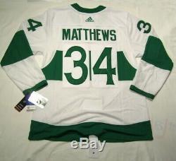 AUSTON MATTHEWS size 52 Large Toronto ST PATS Adidas Maple Leafs Hockey Jersey