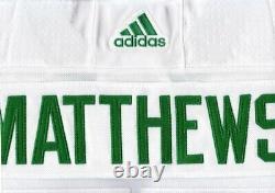 AUSTON MATTHEWS size 60 3XL Toronto ST PATS Adidas Maple Leafs NHL Hockey Jersey