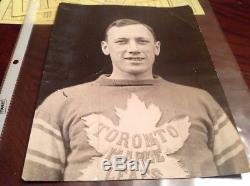 Ace Bailey Original 1934 Hockey Photo Toronto Maple Leafs NHL