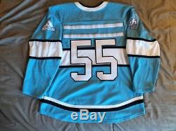 Adidas Da Beauty League Jake Gardiner Game Worn Used Hockey Jersey Made Canada
