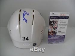 Auston Matthews Autographed Signed Toronto Maple Leafs Helmet JSA Certified COA