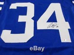 Auston Matthews / Autographed Toronto Maple Leafs Custom Hockey Jersey / COA