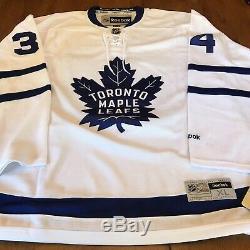 Auston Matthews Signed Autographed Maple Leafs Reebok Jersey Fanatics COA