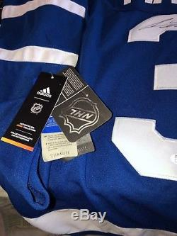 Auston Matthews Signed Autographed Toronto Maple Leafs Adidas Jersey Jsa Coa