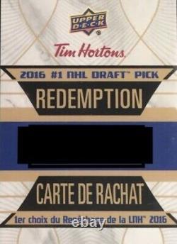 Auston Matthews Tim Hortons Redemption Rc 2016 17 Dp1 Rare Bgs 10 Pristine