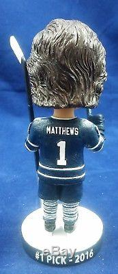 Auston Matthews Toronto Maple Leafs #1 Draft Pick 2016 Prototype Bobblehead 1/1