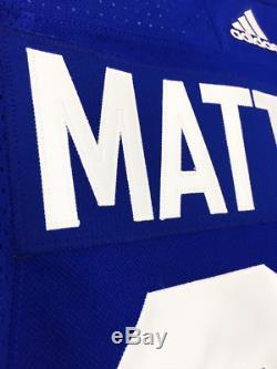 Auston Matthews Toronto Maple Leafs Adidas Adizero Home Jersey Authentic Pro 335ad67cd
