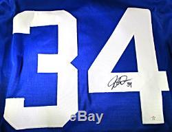 Auston Matthews Toronto Maple Leafs Autographed Custom Hockey Jersey Coa
