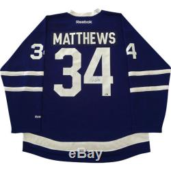 Auston Matthews Toronto Maple Leafs Autographed Reebok Replica Jersey