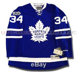 Auston Matthews Toronto Maple Leafs Home Rookie Jersey Reebok Premier NHL 100th