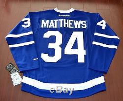 Auston Matthews Toronto Maple Leafs Reebok Premier 2016/17 Home Jersey Large