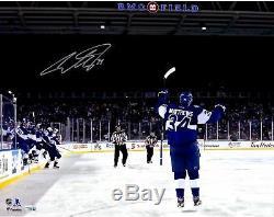 Auston Matthews Toronto Maple Leafs Signed 16x20 Centennial Classic GW Goal Pic