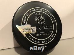 Auston Matthews Toronto Maple Leafs Signed 2018 NHL All-Star Game Puck Fanatics