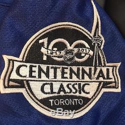 Auston Matthews Toronto Maple Leafs Signed/ Autographed Blue Jersey Jsa Loa
