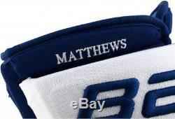 Auston Matthews Toronto Maple Leafs Signed Bauer Nexus Gloves & 2017 Calder Insc