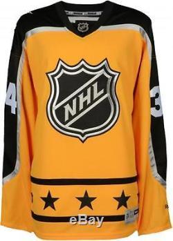 Auston Matthews Toronto Maple Leafs Signed Yellow 2017 ASG Reebok Premier Jersey