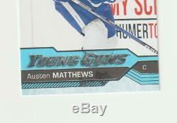 Auston Matthews YOUNG GUNS RC 2016-17 Upper Deck Series 1 Hockey Rookie #201