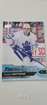 Auston Matthews Young Guns 2016-17 Upper Deck