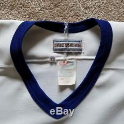 Authentic Center Ice CCM Toronto Maple Leafs NHL Hockey Jersey 52, Fight Strap