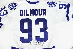 Authentic NHL Hockey Jersey Toronto Maple Leafs Doug Gilmour Captain #93