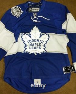 Authentic Reebok Edge Toronto Maple Leafs Centennial Classic Jersey Size 50