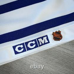 Authentic Toronto Maple Leafs 54 CCM Jersey Ultrafil Center Ice Vintage 90s New