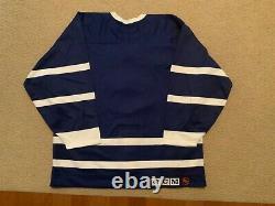 Authentic Toronto Maple Leafs TBTC Jersey SZ 50 Blank 90s CCM ultrafil 91-92