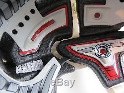 B. LAICH Game Worn CCM Toronto Maple Leafs NHL Pro Stock Hockey Player Helmet M