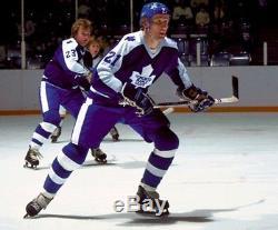 BORJE SALMING size Medium Toronto Maple Leafs CCM 550 VINTAGE Hockey Jersey
