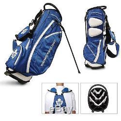 BRAND NEW Team Golf NHL Toronto Maple Leafs Fairway Stand Bag 15628
