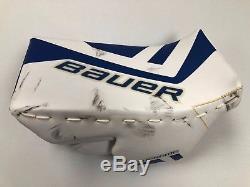 Bauer Toronto Maple Leafs NHL Pro Stock Goalie Blocker & Catcher/glove Set Left