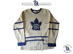 Bill Barilko Custom Signature Toronto Maple Leafs Vintage Model Jersey