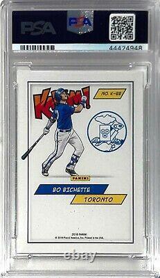 Bo Bichette 2018 Panini Kaboom #bb Psa 9 Mint Baseball Trading Card Very Rare