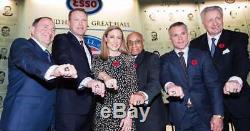 Brodeur HOF Game Warmup Used Puck Toronto Maple Leafs NJ Devils Hall Of Fame