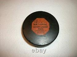 CCM Art Ross Converse Rubber Reverse Toronto Maple Leafs Game Puck 2226516 Pat