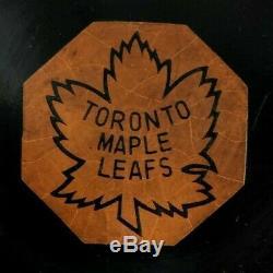 CCM Art Ross Slug Tyer Rubber Reverse Toronto Maple Leafs Game Puck 62-64 Pat No