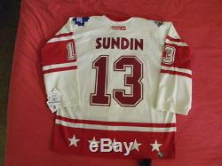 CCM Authentic Toronto Maple Leafs Mats Sundin Jersey s 52 2004 All-Star Game NWT