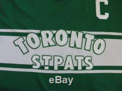 CCM Authentic Toronto Maple Leafs Mats Sundin Jersey size 56 St Pats RARE TBTC