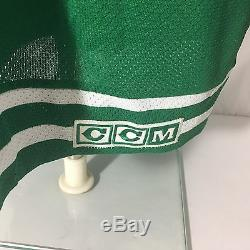 CCM Toronto St Pats Hockey Jersey L Green NHL Vintage Hockey Sewn Maple Leafs