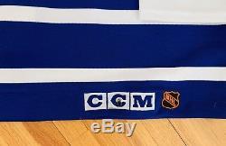 CCM Ultrafill Mats Sundin Toronto Maple Leafs Authentic Hockey Jersey sz 54