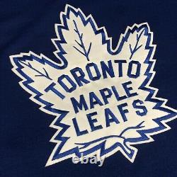 CCM Wendel Clark Toronto Maple Leafs TBTC NHL Hockey Jersey Vintage Blue XXL