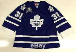 Curtis Joseph Toronto Maple Leafs Nike Authentic Goalie Jersey Size 54 Rare