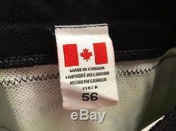 Camo Reebok Toronto Maple Leafs NHL Pro Stock Hockey Player Jersey 56 Greening