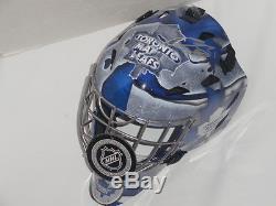Curtis Joseph Signed Toronto Maple Leafs Full-size Youth Goalie Mask Helmet