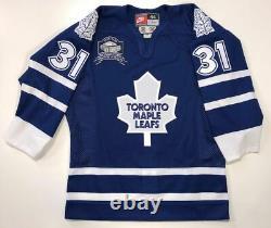 Curtis Joseph Toronto Maple Leafs Authentic Nike 1999 Jersey Size 44