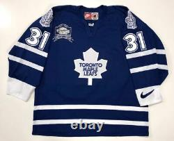 Curtis Joseph Toronto Maple Leafs Authentic Nike 1999 Jersey Size Large