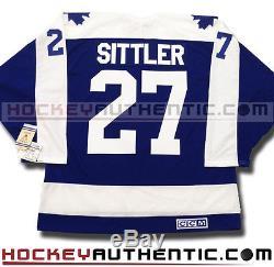 Darryl Sittler Toronto Maple Leafs Jersey CCM Vintage Blue