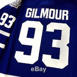 Doug Gilmour 1993 Cup 100th Toronto Maple Leafs CCM Original Replica Jersey XL